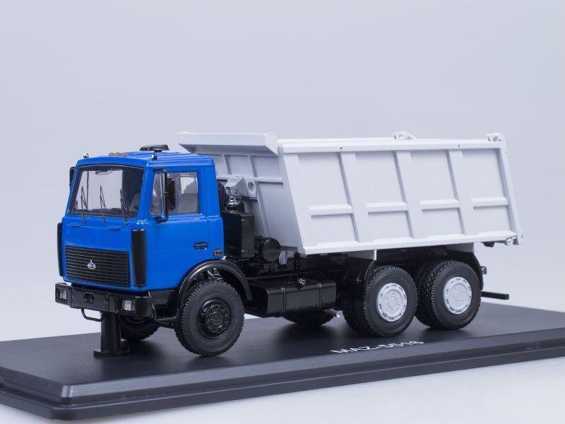 MAZ 5516 blu-grigio SSM 1168  1 43