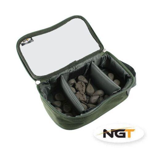 Includes Deluxe Lead Bag 10x Carp Fishing Leads 2.5oz 3oz Far Casting