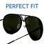 MIRROR-034-Posche-034-OVERSIZED-Women-Sunglasses-Aviator-Flat-Top-Square-Shadz-GAFAS thumbnail 34