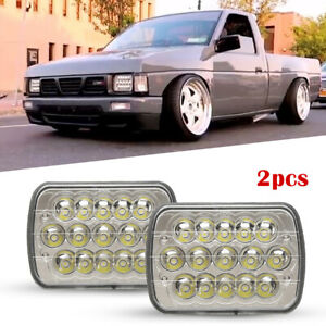 Image Is Loading Full Led Hi Low H6054 7x6 Headlight Clear