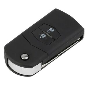 Folding-Flip-2-Button-Remote-Key-Fob-Case-Replace-Shell-fit-for-MAZDA-3-5-6-EC