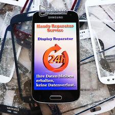 Samsung Galaxy S4 mini Display Glas Frontglas Scheibe Glasbruch Reparatur 24H