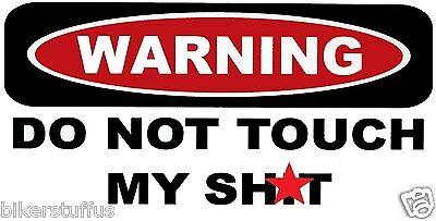 WARNING I LIKE IT DIRTY HELMET STICKER HARD HAT STICKER LAPTOP STICKER TOOLBOX