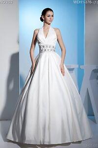 Full-length-Wedding-Dress-Bridal-GOWN-SIZE-4-6-8-10-12-14-16-WDH1-376
