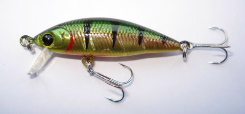Angeln Köder Raubfische Lucky Craft Bevy Minnow 40SP Japan Wobbler Forelle
