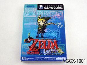 Zelda-Wind-Waker-Japanese-Import-Kaze-no-Takuto-Takt-of-Wind-Gamecube-GC-NGC-B