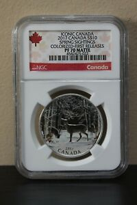 2017-Canada-Spring-Sightings-Colorized-1st-Releases-Iconic-Canada-S-10-NGC-PF70
