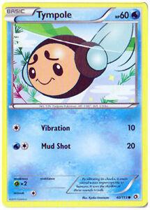Common NM-Mint Pokemon BW 57//113 4x Misdreavus Legendary Treasures