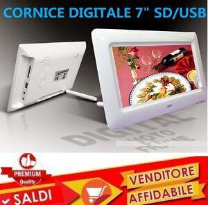 CORNICE-DIGITALE-7-039-039-POLLICI-USB-FOTO-VIDEO-MP3-JPG-SD-CARD-CON-TELECOMANDO-NEW
