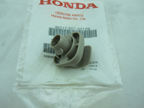1996-2000 Honda Civic  Sunvisor Clip New OEM Tan 88217-S01-A01ZB