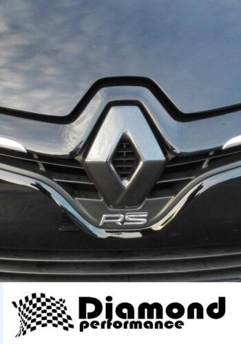 Renault Clio 4 2017 Facelift set Brillo Negro Insignia Cubierta sin cámara trasera