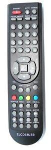 Genuine remote control for PROSCAN PLDED4022-UK , PLEDV2488-UK , PLDEDV3292-Uk - Warszawa, Polska - Zwroty są przyjmowane - Warszawa, Polska