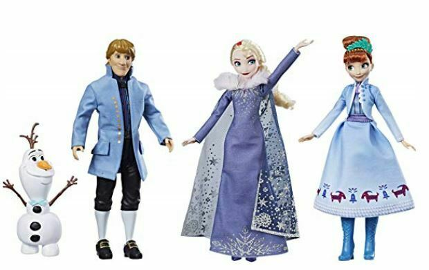 Frozen doll pack Olaf's adventure arrives before Christmas