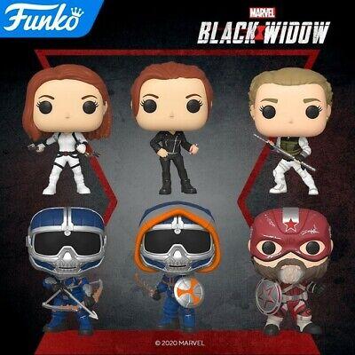 Black Widow Yelena 46679.81.84.85.86.87 Set of 6 In stock Funko Pop Marvel