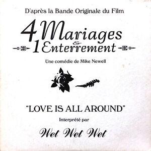 Wet-Wet-Wet-CD-Single-Love-Is-All-Around-Promo-France-EX-EX