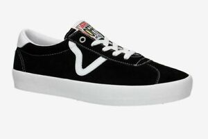 Vans Shoes Sport SKATE Black White USA SIZE Skateboard Sneakers