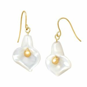 Natural-Mother-of-Pearl-Flower-Drop-Earrings-in-14K-Gold