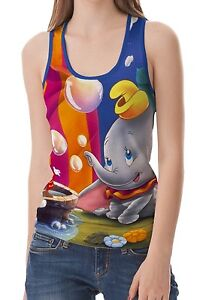 Dumbo-Womens-Tank-Top-Size-S-M-L-XL-2XL-New