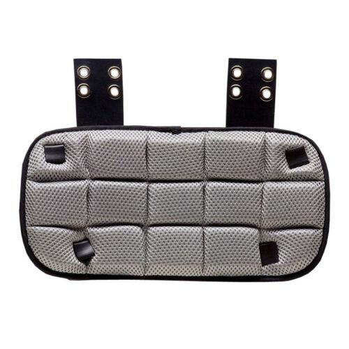 Schutt Varsity Back Plate für dein Shoulderpad grau