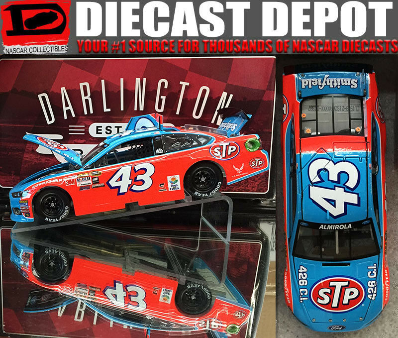 ARIC ALMIROLA 2015 STP DARLINGTON RETRO 1 24 SCALE  ACTION  NASCAR DIECAST