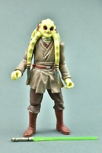 Star Wars Revenge Of The Sith Kit Fisto 22 3 75 Hasbro Ebay