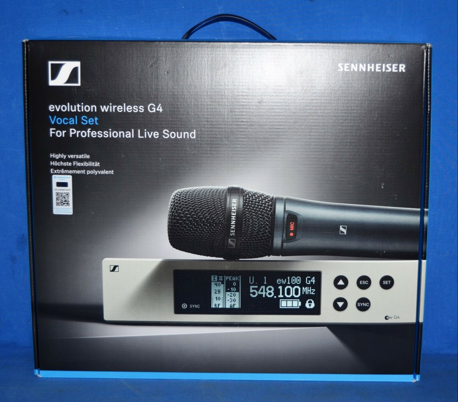 Sennheiser EW 100 G4-835-S-A Wireless Vocal Microphone System Set