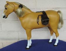 Fatto a mano 1/6 Western Marrone Scuro in Pelle bisacce Sindy Marx Cowboy Cavallo Giocattolo