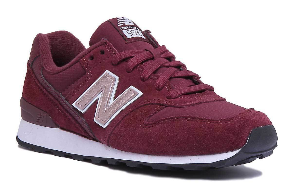 New Balance WR996MB femmes Burgundy Miscellaneous Burgundy femmes Trainers e18a4a
