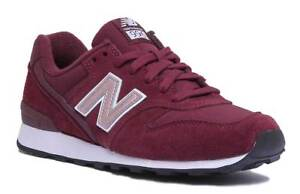 a5ff386f68268 New Balance WR996MB Women Miscellaneous Burgundy Trainers Size UK 3 ...