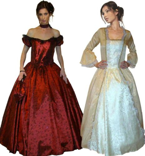 Barock Kostüm Rokoko Kleid Faschingskostüm Märchen Prinzessin Gr 36 38 40
