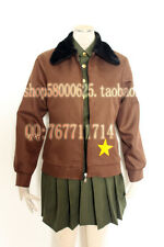 free shipping APH Axis Powers Hetalia America Cosplay Costume Female US USA cos