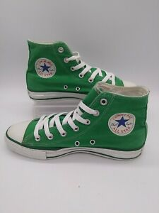 7829d164ce973 Details about CONVERSE ALL STAR Women's Size 8 Men's Size 6 (Barely Used)  Amazon Green