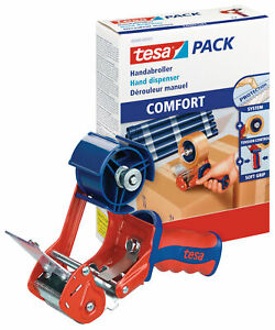 tesa Packband Abroller Handabroller für Paketband Klebeband tesa OVP NEU Comfort