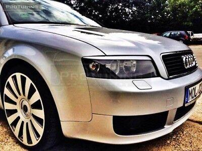 Audi a6 4f c6 04-11 Eyebrows Eyelids Eye brow lid mask Headlight covers trims S6
