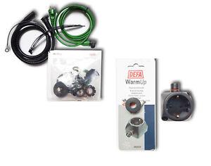 DEFA Anschluss-Set 2,5 Meter mit Steckdose A460785 + A460829