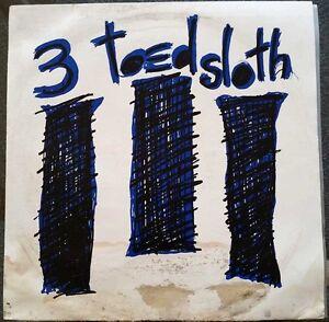 1991-AUSSIE-ROCK-3-TOED-SLOTH-LP-1ST-PRESS-SLOTHFUL-1-HAS-INSERT