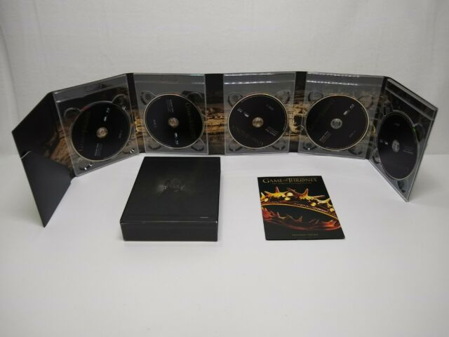 Game of Thrones: The Complete Second Season (Blu-ray) 5 disk. No scratches
