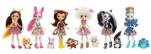 Enchantimals Collection Dolls  6Pack