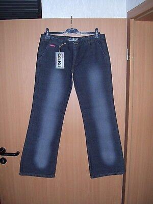 W31 schwarz NEU CROSS Damen Stretch Jeans C-412-024  leichter Bootcut  W27