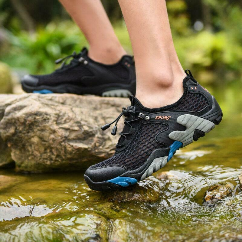 Hot Men's Breathable Outdoor Hiking Trail Climbing Mesh shoes Athletic Casual Sz