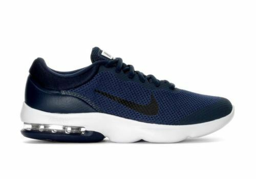 NIKE AIR MAX ADVANTAGE homme fonctionnement chaussures SZ 6.5 NAVY BLUE blanc 908981-400