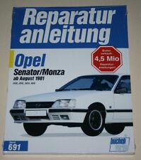 Reparaturanleitung Opel Senator A A2 + Monza, ab Baujahr 1981