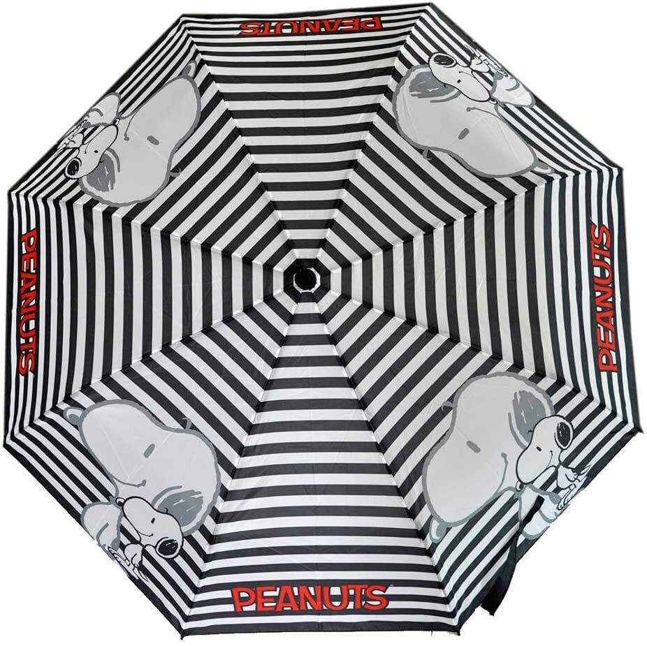 Keith Kimberlin Snoopy Peanuts Folding Compact Umbrella with Sleeve