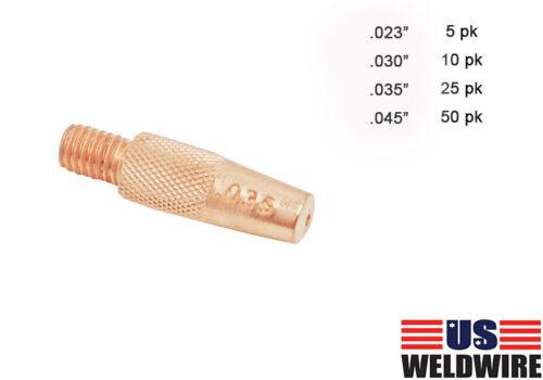 Mig Contact Tips fit Miller Spool Gun Parts Spoolmate 100 185 200 186419