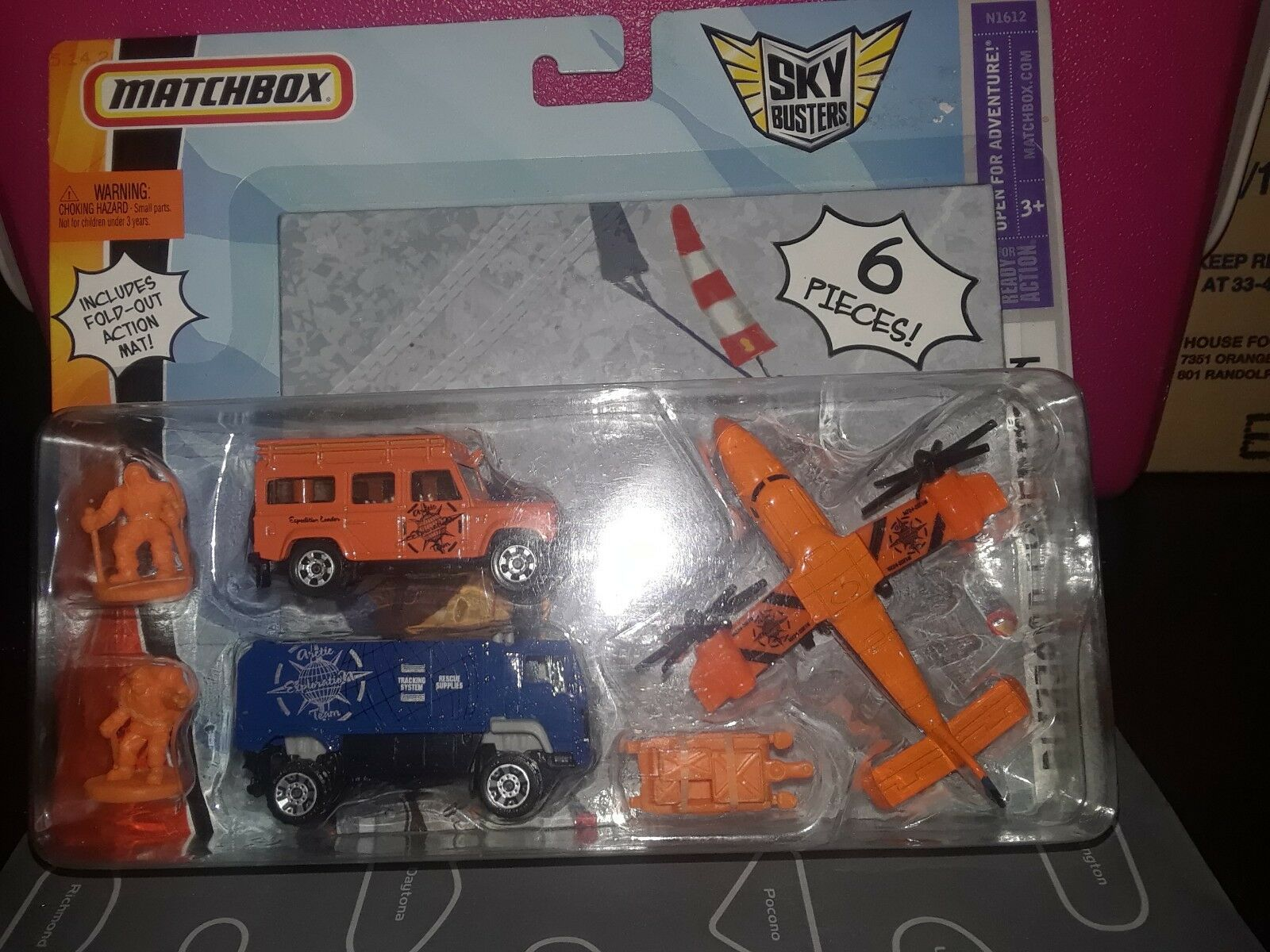 Matchbox RARE Blizzard Expedition With Land Rover Defender