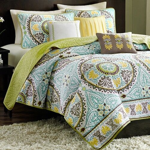 Madison Park Bali 6-piece Coverlet Set
