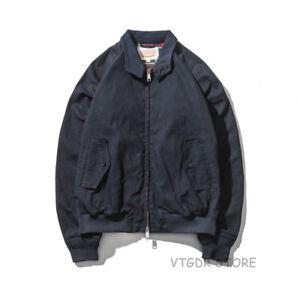 Détails sur G9 Bomber Veste Ciré Imperméable Hiver Homme Manteau Bleu Marine afficher le titre d'origine