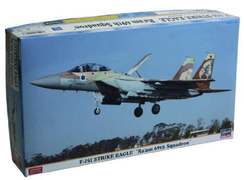 Hasegawa 1 72 F-15I Strike Eagle Ra'am 69th Squadron Model Kit NEW from Japan