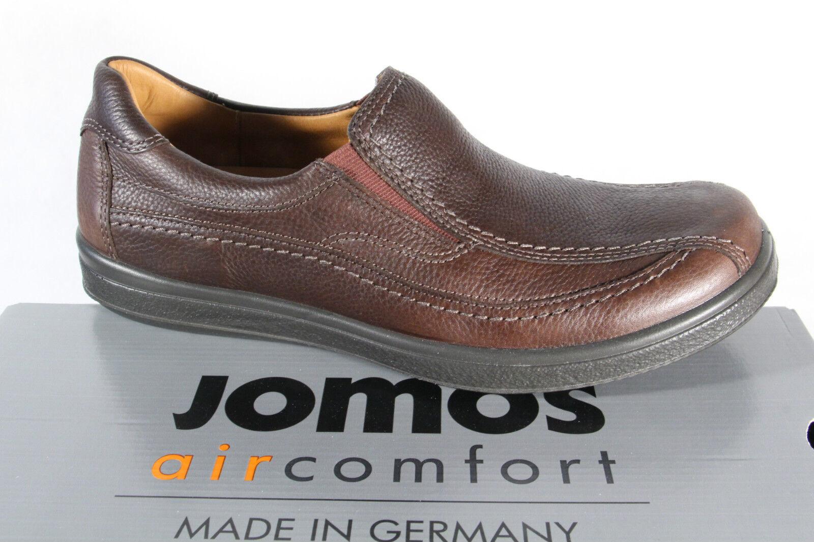 Jomos Slipper Halbschuhe Sneakers braun Leder für lose Einlagen geeignet  NEU