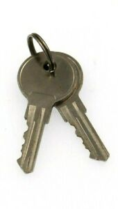 2 Universal Ignition Switch keys Fits John Deere AM131841 AM101600